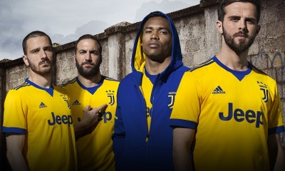 Juventus 2017 2018 adidas Yellow Away Football Kit, Soccer Jersey, Shirt, Camiseta, Camisa, Maglia, Gara, Trikot, Maillot, Tenue