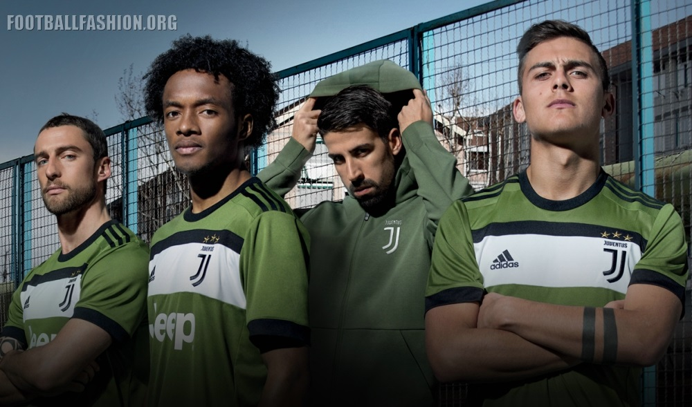 Juventus FC 2017/18 adidas Third Kit - FOOTBALL FASHION.ORG