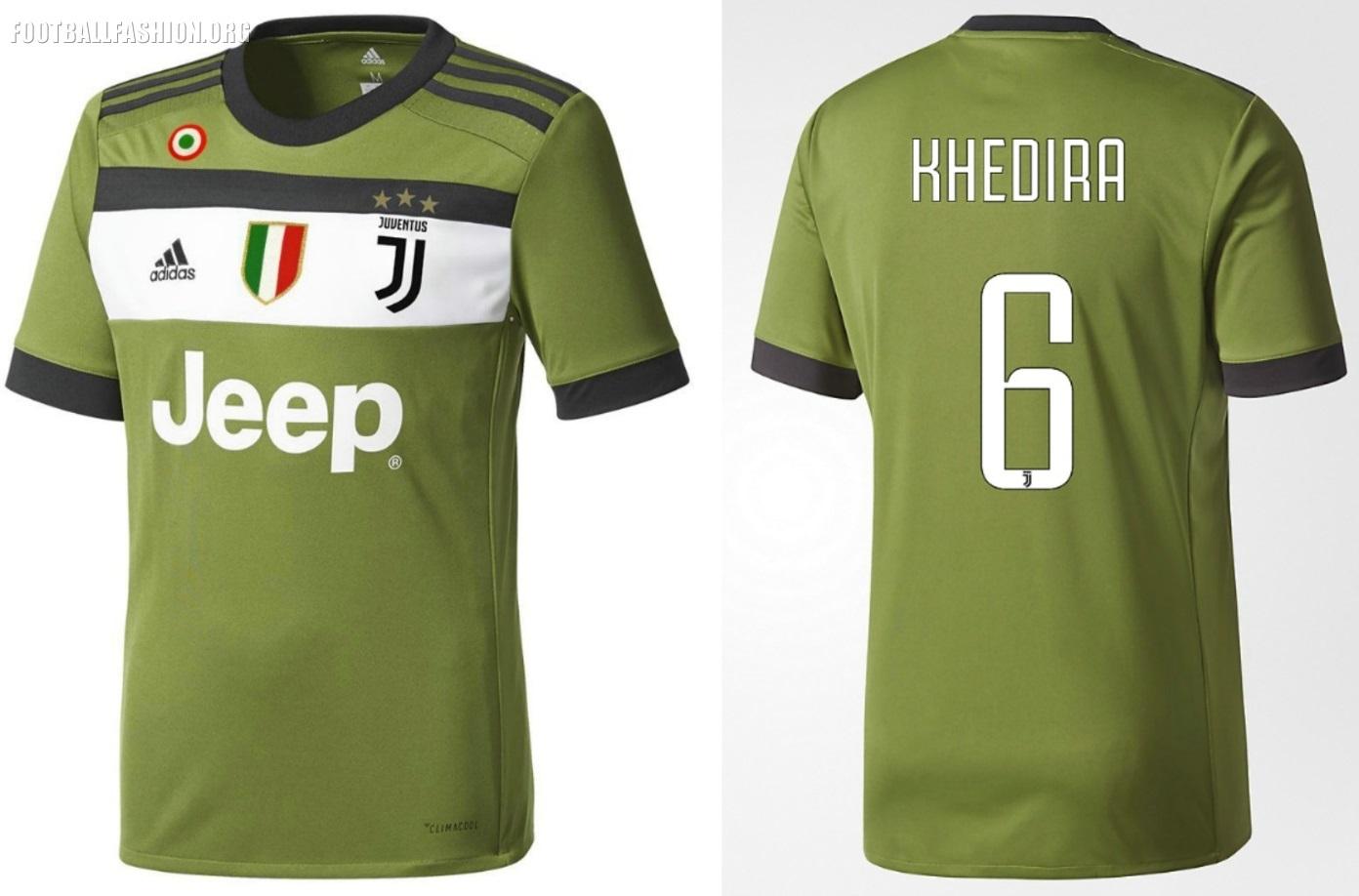 pretty nice 5bdea cbec0 Juventus FC 2017/18 adidas Third Kit - FOOTBALL FASHION.ORG