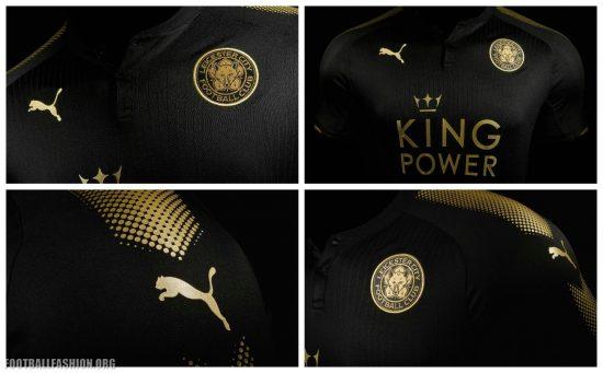 Leicester City FC 2017 2018 PUMA Away Football Kit, Shirt, Soccer Jersey, Maillot, Trikot, Tenue, Camiseta