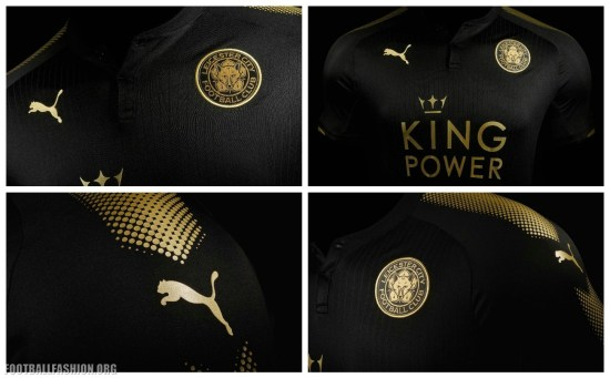 Leicester City FC 2017 2018 PUMA Away Football Kit, Shirt, Soccer Jersey, Maillot, Trikot, Tenue, Camiseta