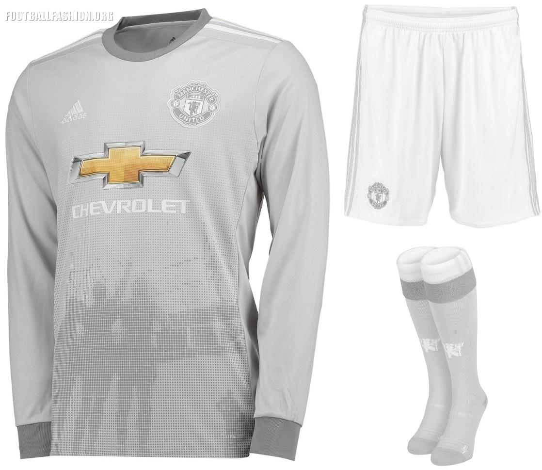 Manchester United 2017/18 adidas Third Kit - FOOTBALL FASHION.ORG