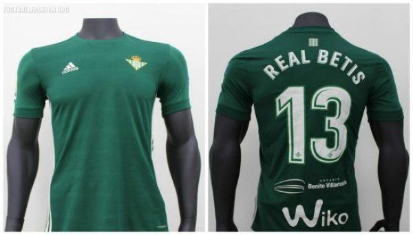 Real Betis 2017 2018 adidas Home and Away Football Kit, Soccer Jersey, Shirt, Camiseta, Equipacion, Playera