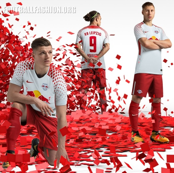 Rb Leipzig 2017 18 Nike Home And Away Kits Football Fashion