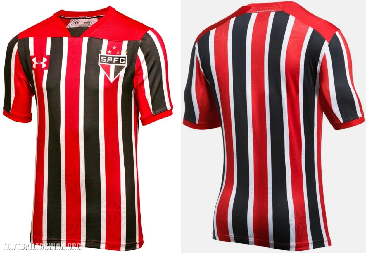 37e6bdbfb São Paulo FC 2017 Under Armour Away Kit - Football Fashion