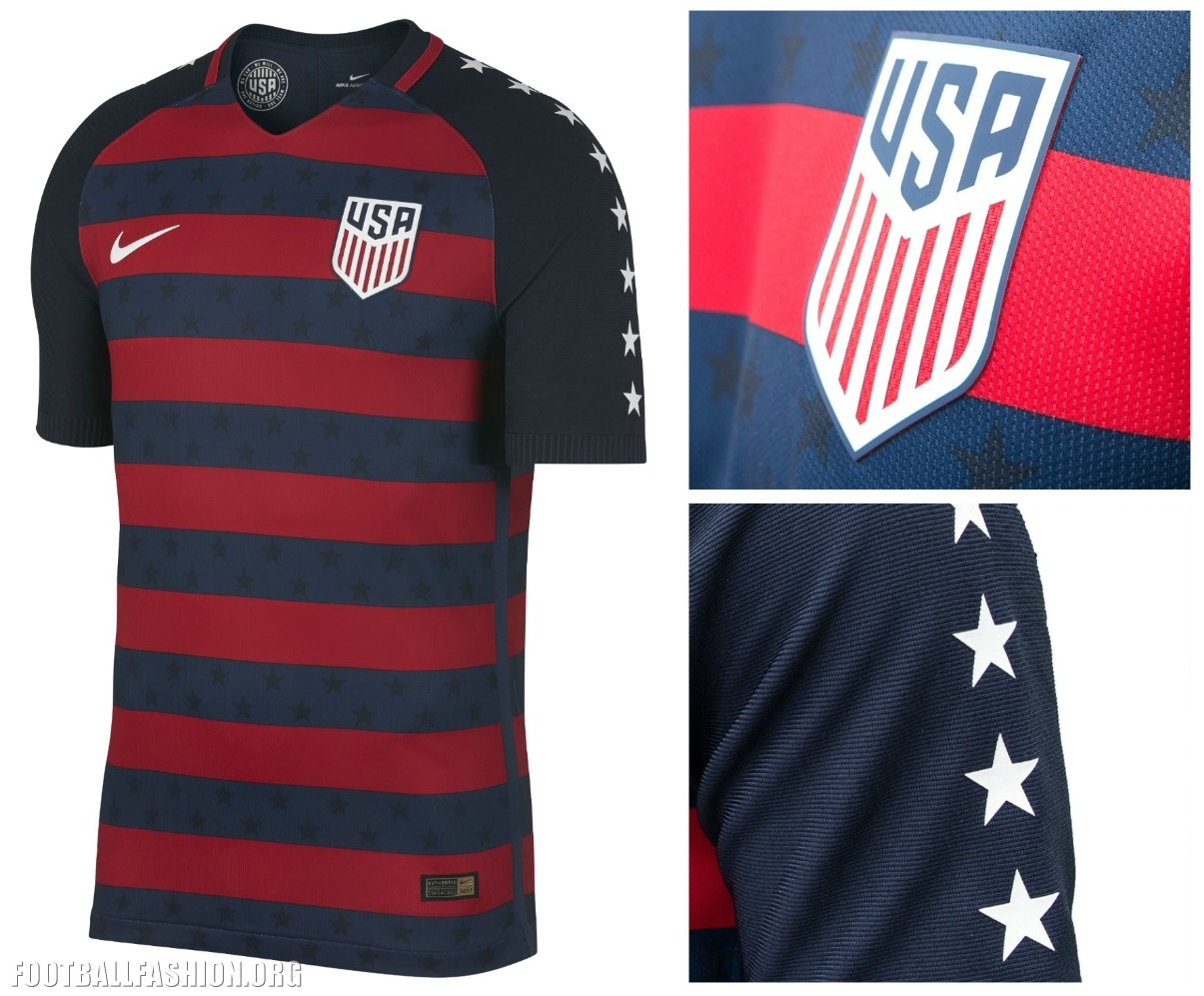 USA 2017 CONCACAF Gold Cup Nike Jersey – FOOTBALL FASHION.ORG