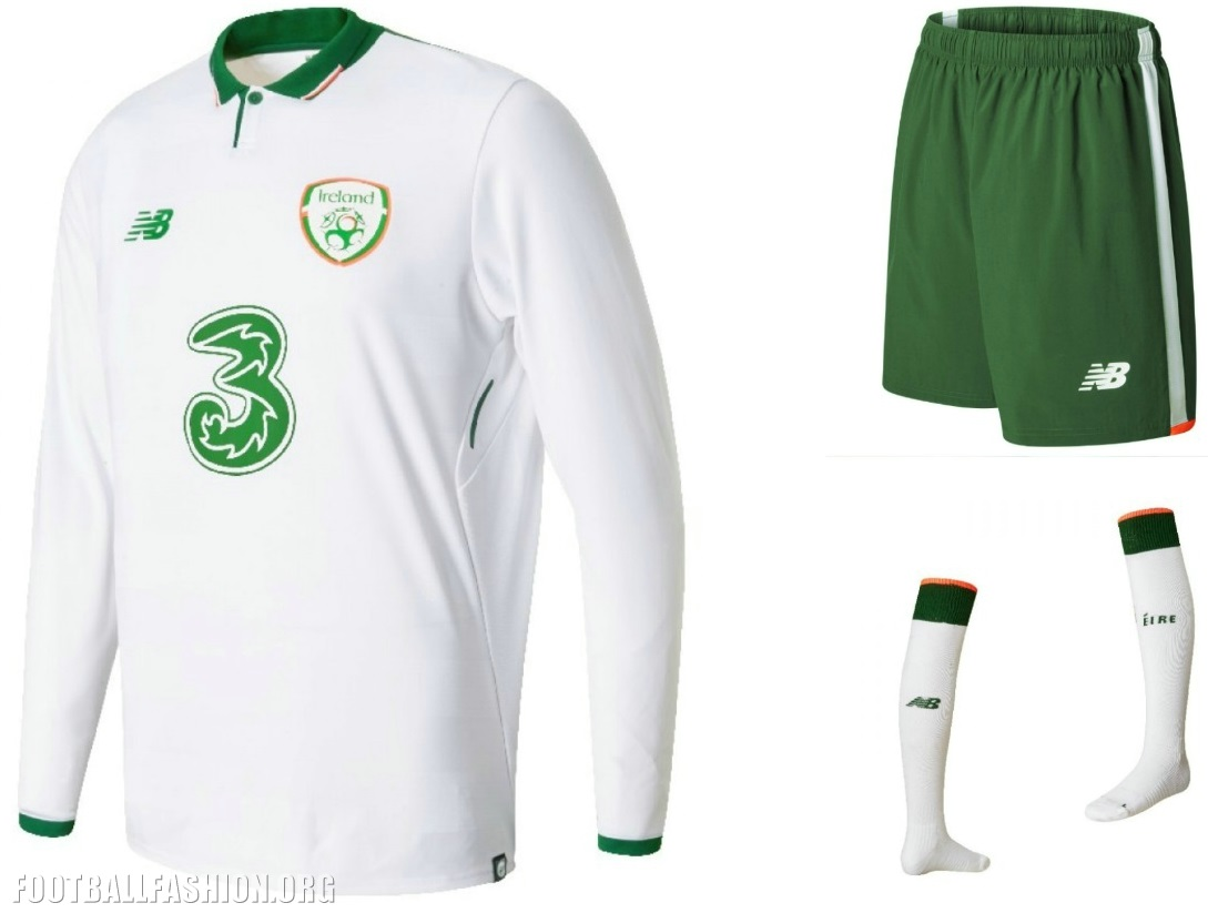 abce66b7d06 The full range of New Balance Republic of Ireland away kit products will be  available at JD Sports