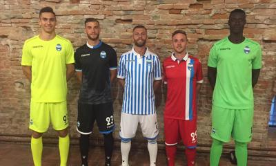 SPAL 2017 2018 Macron Home, Away and Third Football Kit, Soccer Jersey, Shirt, Maglia, Gara
