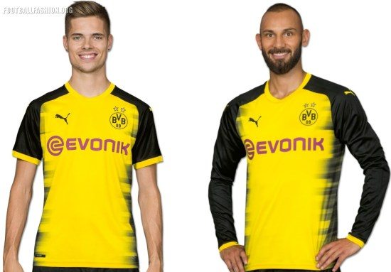 Borussia Dortmund 2017 2018 PUMA International, Champions League, Football Kit, Shirt, Soccer Jersey, Trikot, Camiseta, Camisa, Maillot, Tenue