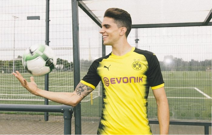 Borussia Dortmund 2017 2018 PUMA International, Champions League, Football Kit, Shirt, Soccer Jersey, Trikot, Camiseta, Camisa, Maillot, Tenue