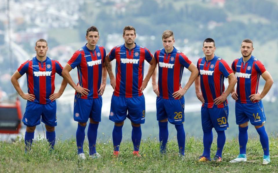 Hajduk Split 2017 2018 Macron Football Kit, Soccer Jersey, Dres, Shirt