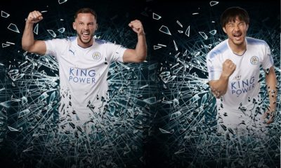 Leicester City FC 2017 2018 PUMA White Third Football Kit, Soccer Jersey, Shirt, Camiseta, Maillot