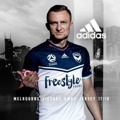 Melbourne Victory 2017 2018 adidas Home and Away Football Kit, Soccer Jersey, Shirt