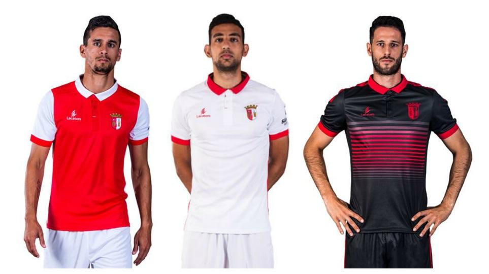 Braga Fc: SC Braga 2017/18 Lacatoni Home, Away And Third Kits