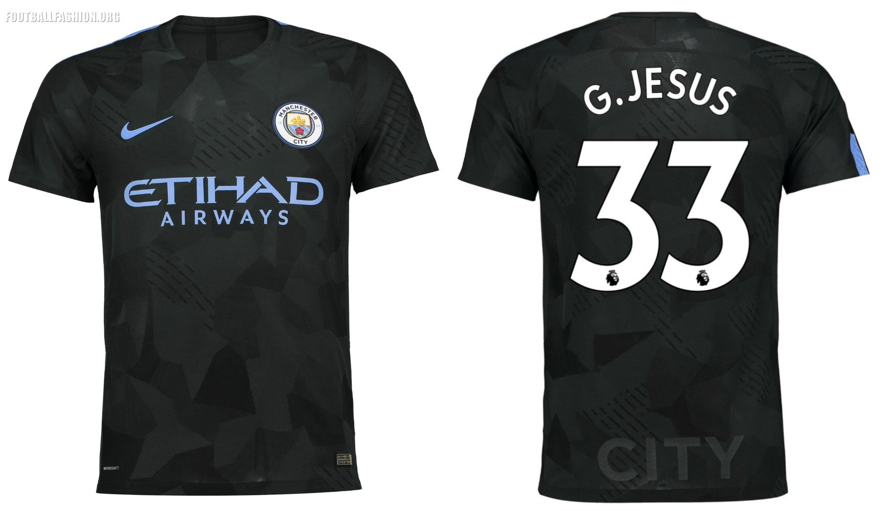 premium selection 0aa35 8f1a2 Manchester City 2017/18 Nike
