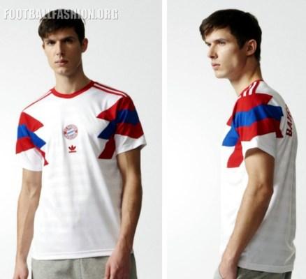 Bayern Munich 2017 2018 adidas Originals Retro Football Kit, Soccer Jersey, Shirt, Trikot, Maillot, Tenue, Camisa, Camiseta, München