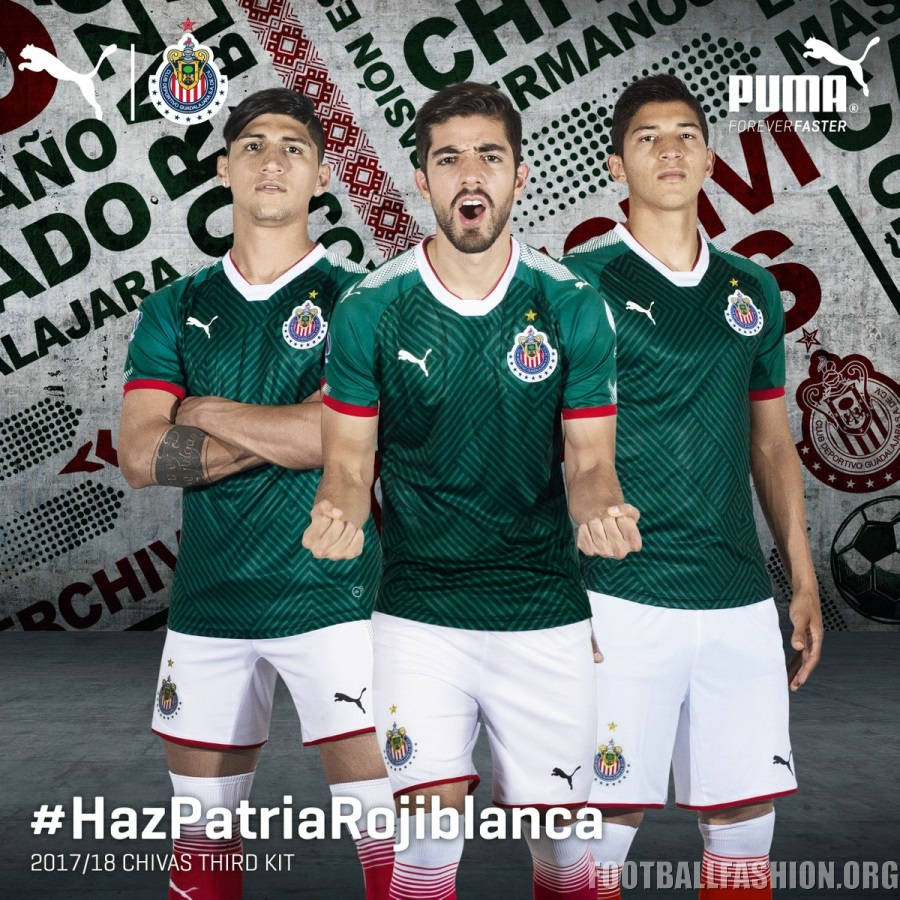 super popular 66445 5a81e Chivas de Guadalajara 2017/18 PUMA Third Jersey - FOOTBALL ...