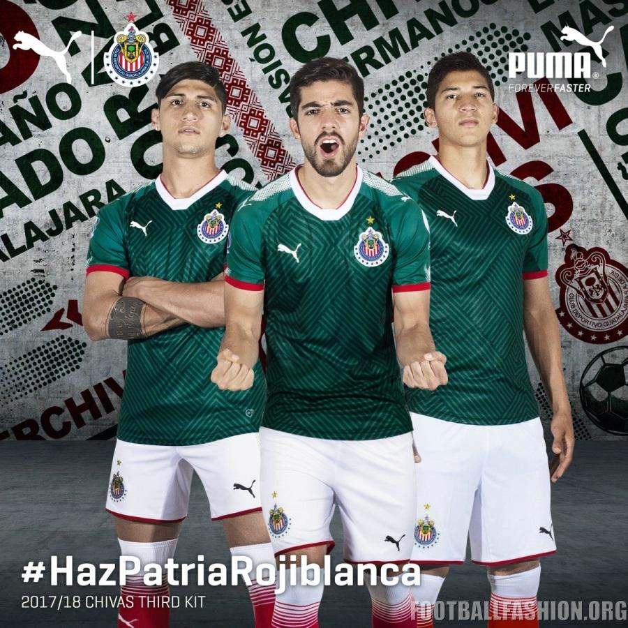 super popular 5c997 43348 Chivas de Guadalajara 2017/18 PUMA Third Jersey - FOOTBALL ...