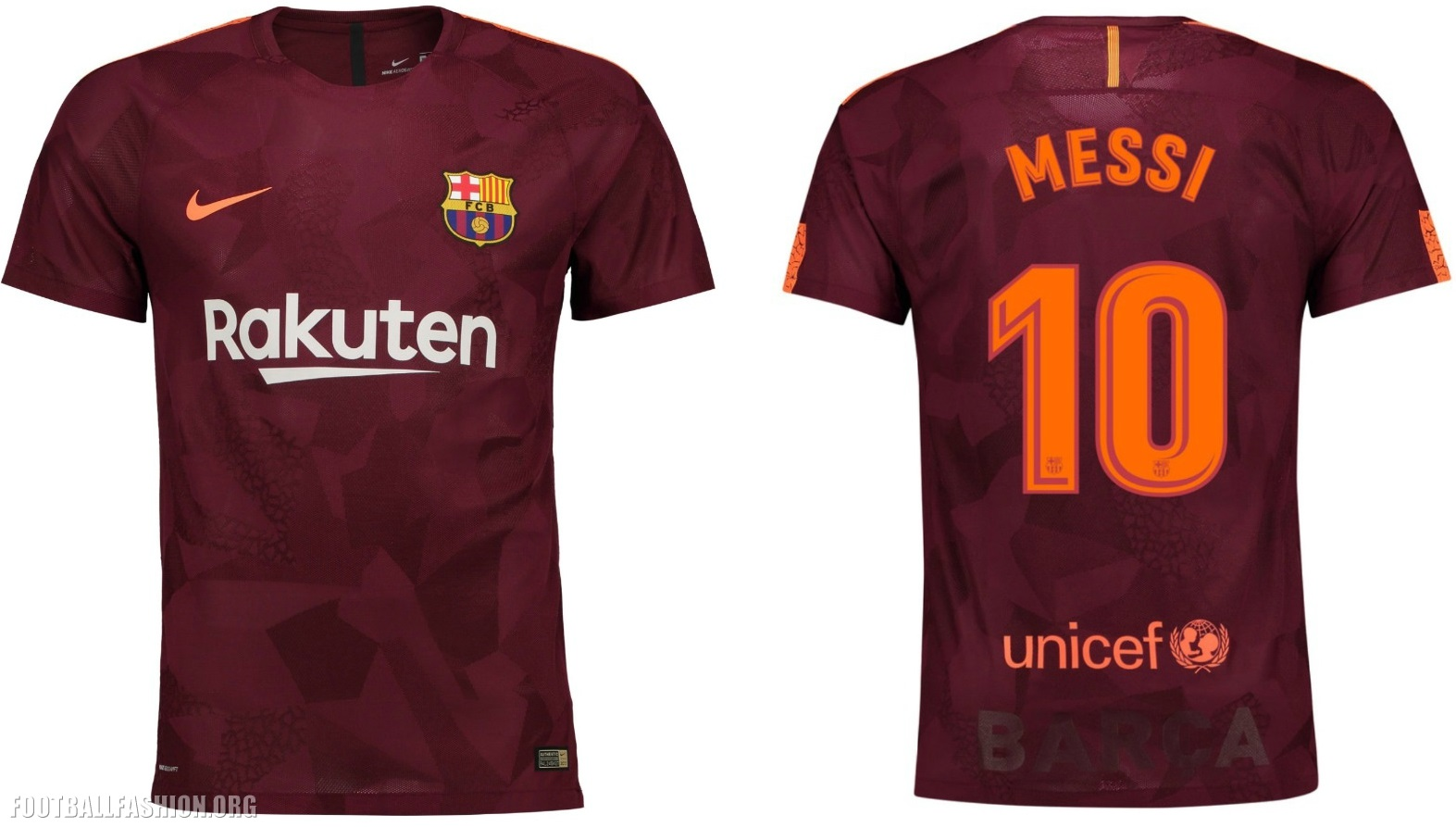 the latest cc595 5ea8c FC Barcelona 2017/18 Nike Third Kit - FOOTBALL FASHION.ORG