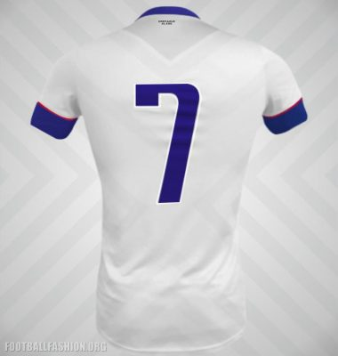 Haiti 2017 2018 White Soccer Jersey, Football Kit, Shirt, Maillot