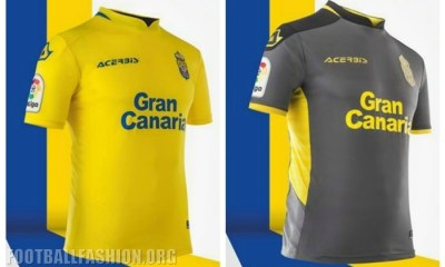 UD Las Palmas 2017 2018 Acerbis Home and Away Football Kit, Soccer Jersey, Shirt, Camiseta, Equipacion