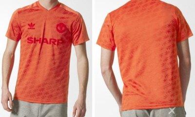 Manchester United 2017 2018 adidas Originals Retro Football Kit, Soccer Jersey, Shirt, Camiseta, Camisa, Maillot, Trikot