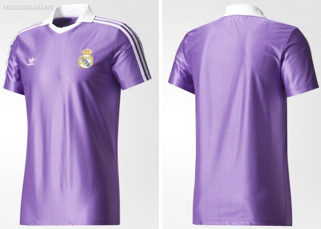 Real Madrid 80s Inspired 2017 18 Adidas Originals Retro Kits