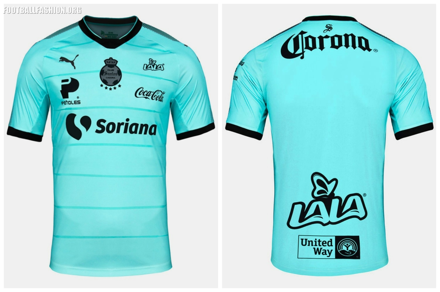 44e10994db3 Santos Laguna 2017 2018 PUMA Third Soccer Jersey, Football Kit, Shirt,  Camiseta de
