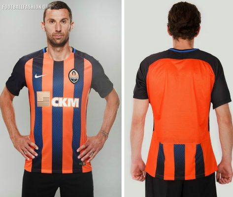 FC Shakhtar Donetsk 2018 2019 Nike Home and Away Football Kit, Soccer Jersey, Shirt, Camisa