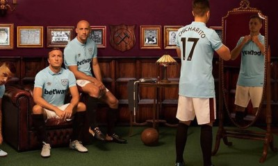 West Ham United 2017 2018 Umbro Third Football Kit, Shirt, Soccer Jersey, Camiseta, Camisa, Maillot, Trikot