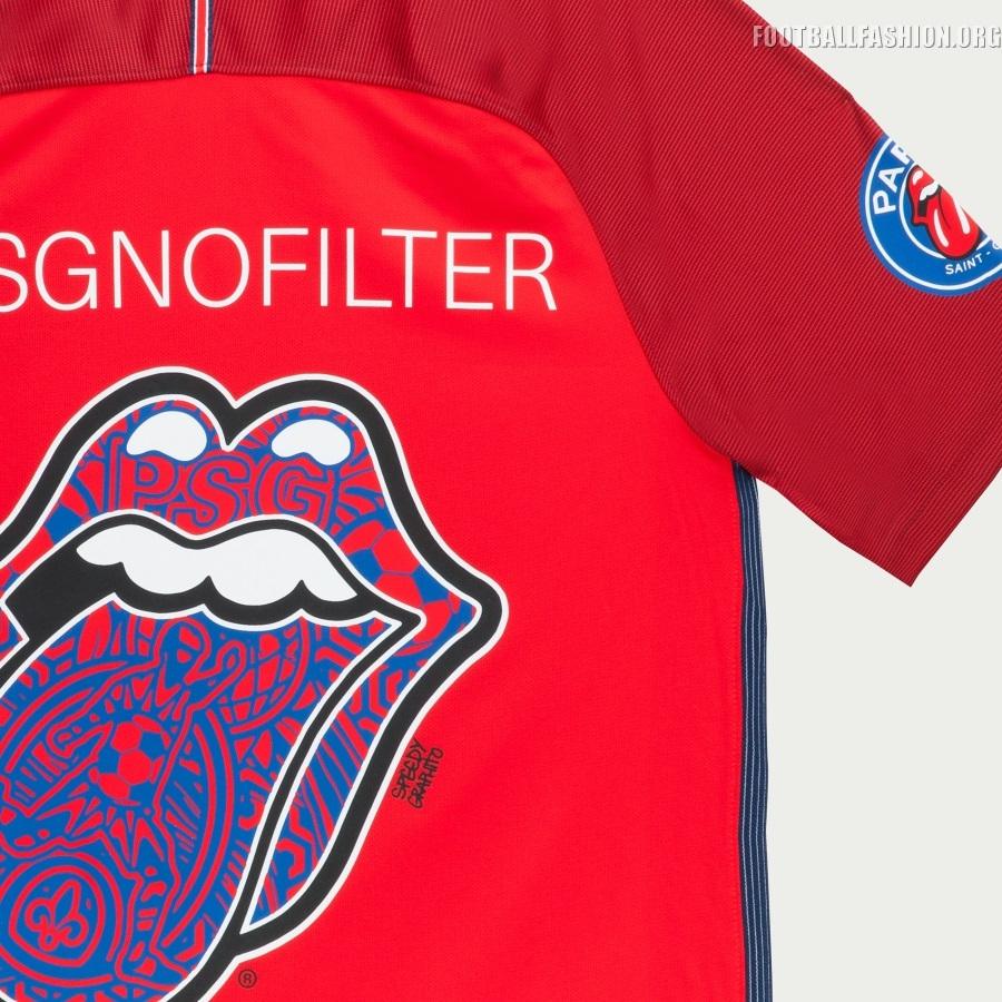Paris Saint Germain X The Rolling Stones No Filter Tour