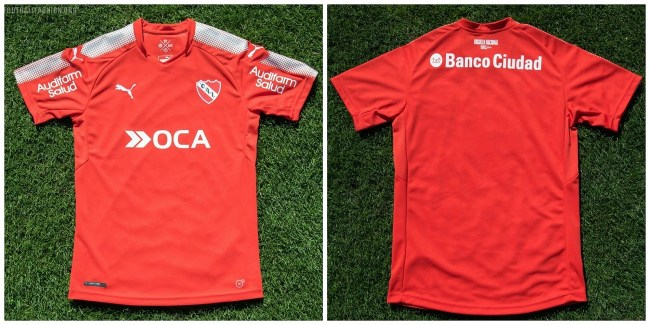 Club Atlético Independiente 2017 2018 PUMA Football Kit, Soccer Jersey, Shirt, Camiseta de Futbol, Equipacion