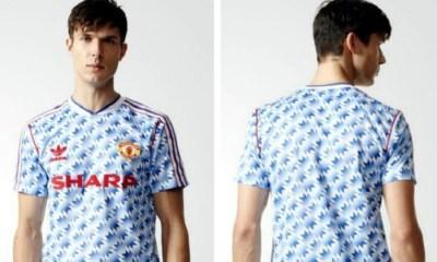 Manchester United 2017 2018 adidas Originals 1990 1992 Retro Football Kit, Soccer Jersey, Shirt, Camiseta, Camisa, Maillot, Trikot