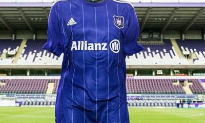 RSC Anderlecht 2017 2018 adidas Home and Away Football Kit, Soccer Jersey, Shirt, Maillot, Tenue