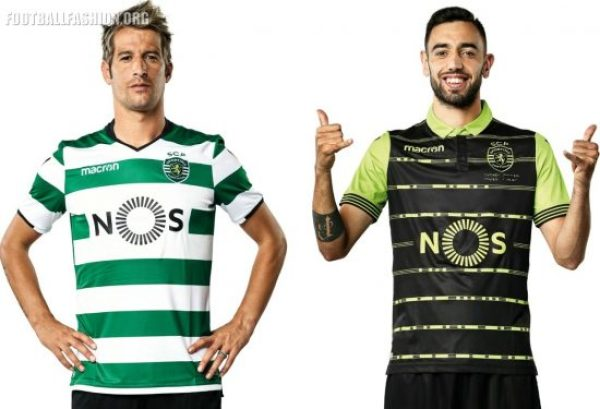 Sporting Clube de Portugal 2017 2018 Macron Football Kit, Soccer Jersey, Shirt, Camiseta, Camisola, Camisa