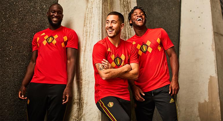 03262752045 Belgium 2018 World Cup adidas Home Football Kit, Soccer Jersey, Shirt,  Maillot,