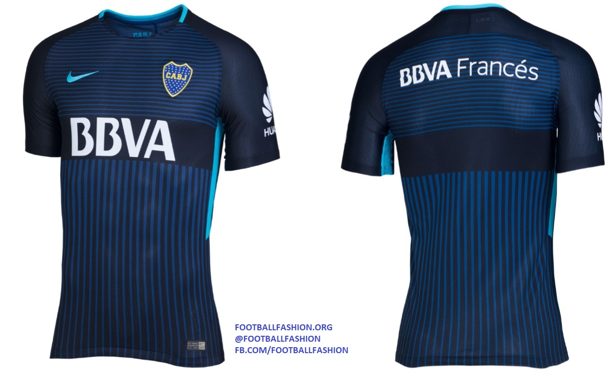 Boca Juniors 2017/18 Nike Third Kit – FOOTBALL FASHION.ORG