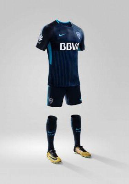 Boca Juniors 2017 2018 Nike Third Football Kit, Soccer Jersey, Shirt, Equipacion, Camiseta Tercera
