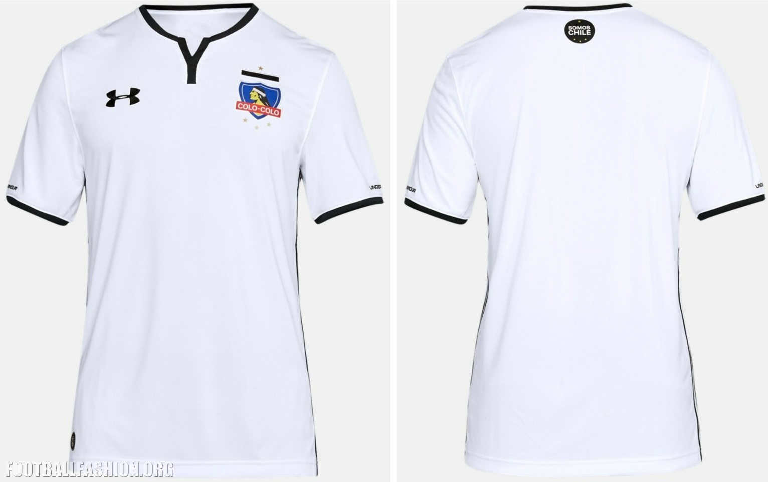 on sale fed49 38dc2 Colo-Colo 2018 Under Armour Home Kit - FOOTBALL FASHION.ORG