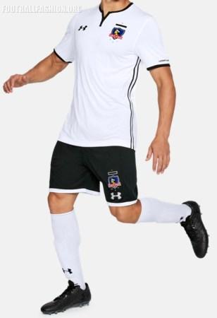 Colo-Colo 2018 Under Armour Home Football Kit, Soccer Jersey, Shirt, Camiseta de Futbol, Equipacion