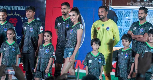 Delhi Dynamos 2017 2018 Home, Away and Third Football Kit, Soccer Jersey, Shirt