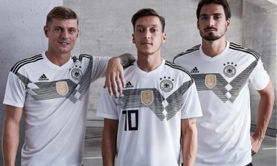 Germany 2018 FIFA World Cup adidas Home Football Kit, Shirt, Soccer Jersey, Trikot, Heimtrikot , Fussball-Weltmeisterschaft Russland