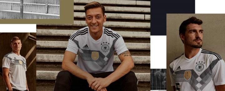 Germany 2018 FIFA World Cup adidas Home Football Kit, Shirt, Soccer Jersey, Trikot, Heimtrikot , Fussball-Weltmeisterschaft