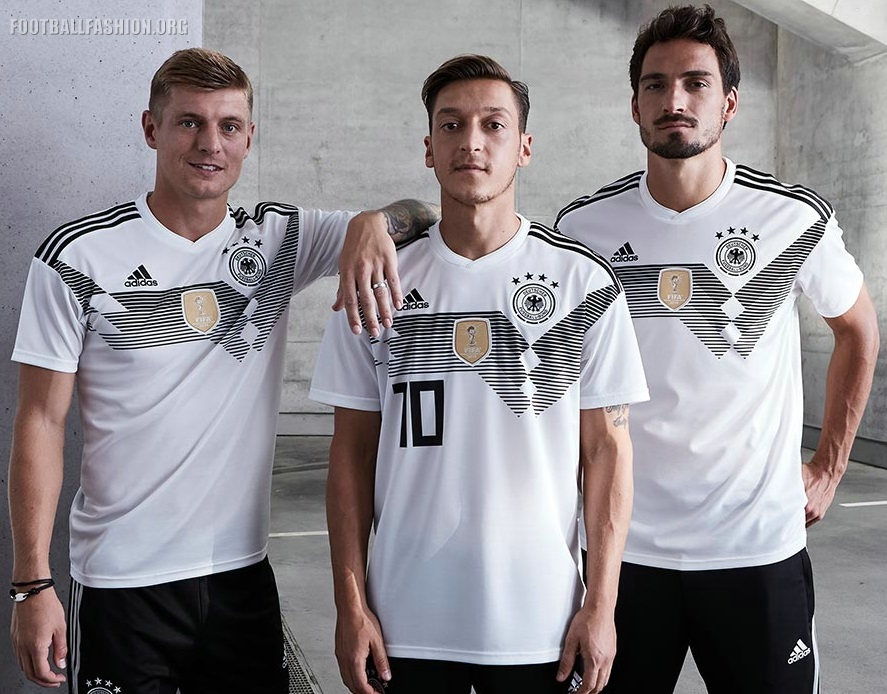 a7ffcad46 Germany 2018 FIFA World Cup adidas Home Football Kit, Shirt, Soccer Jersey,  Trikot