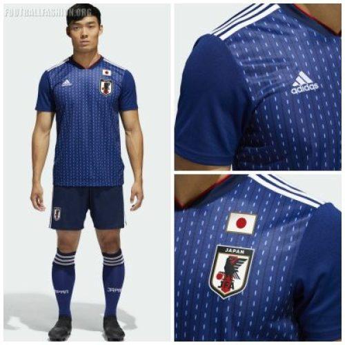 Japan 2018 World Cup adidas Home Soccer Jersey, Shirt, Football Kit, Camiseta de Futbol