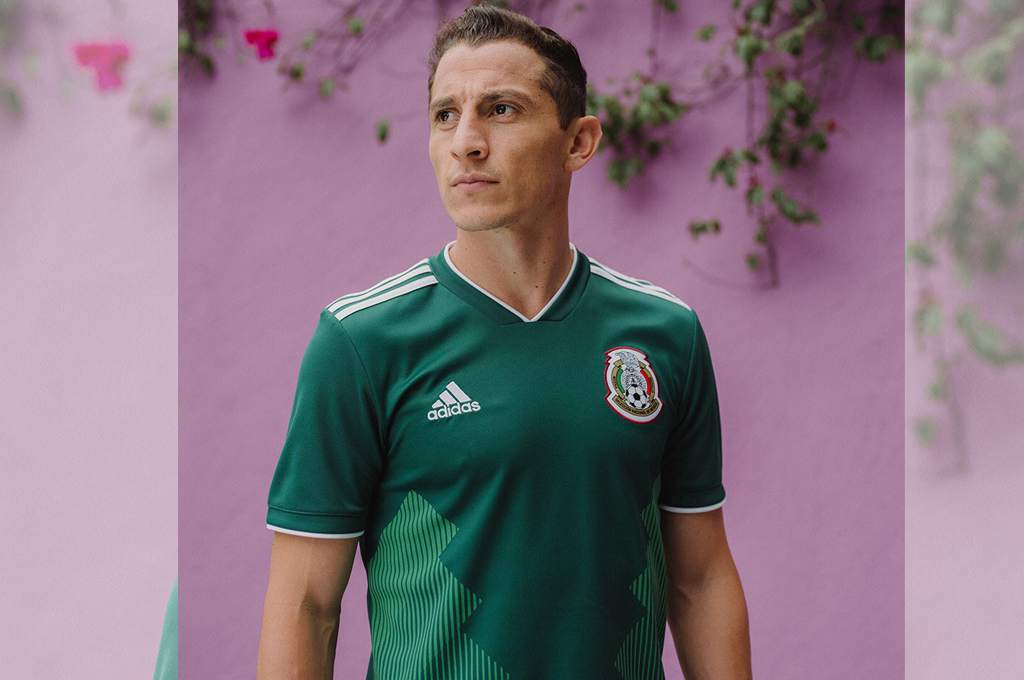 Mexico 2018 World Cup adidas Home Jersey – FOOTBALL FASHION.ORG de010b51c91d4