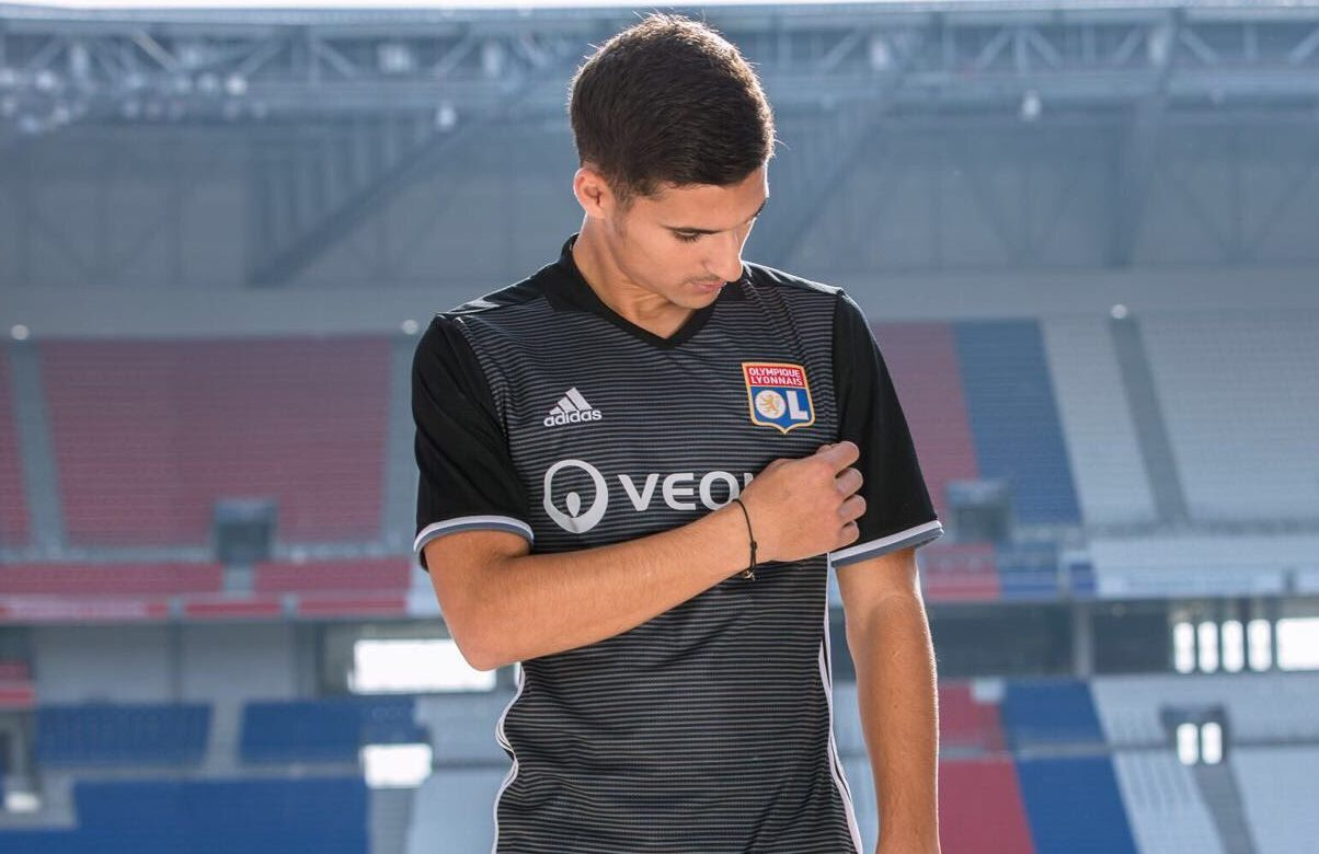 Super Olympique Lyon 2017/18 adidas Third Kit – FOOTBALL FASHION.ORG YC45