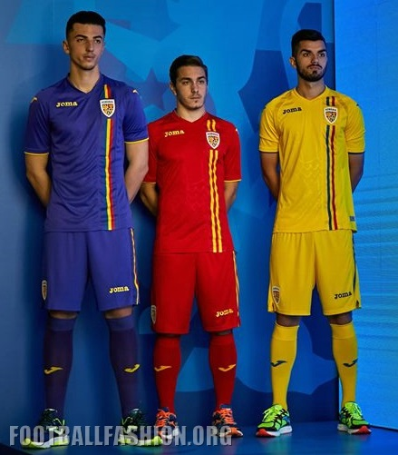 Romania 2018 19 Joma Home and Away Kits – FOOTBALL FASHION.ORG 692058dab