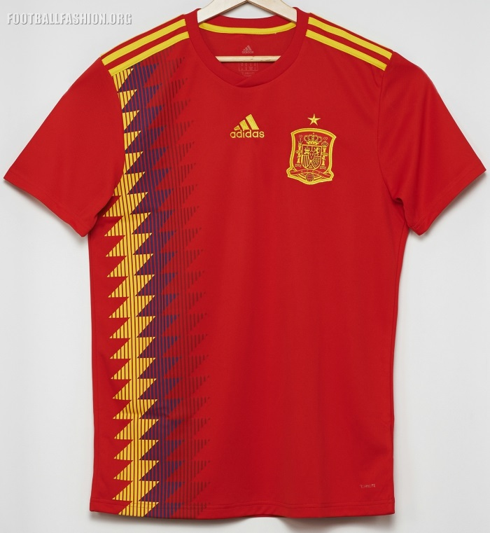 World Cup 2018 Spain Jersey