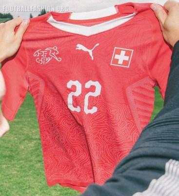 Switzerland 2018 FIFA World Cup PUMA Home Football Kit, Soccer Jersey, Shirt, Maillot, Trikot, Maglia, Gara